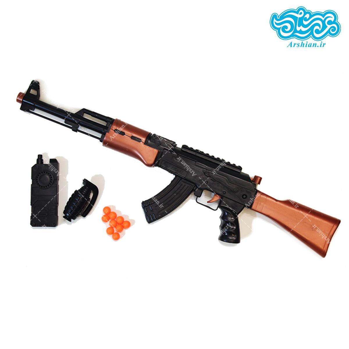 ماکت اسلحه کلاشینکف