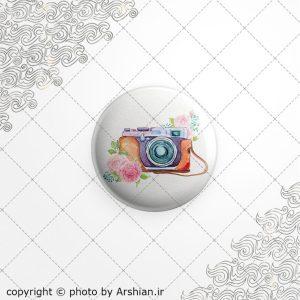 برچسب ژله ای با طرح دوربین عکاسی فانتزی