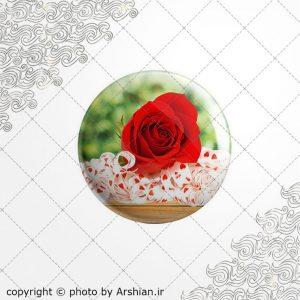 برچسب ژله ای گل