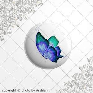برچسب ژله ای پروانه