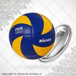 پیکسل با طرح توپ والیبال