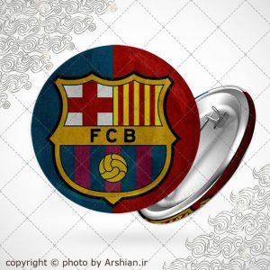 پیکسل لوگوی باشگاه بارسلونا