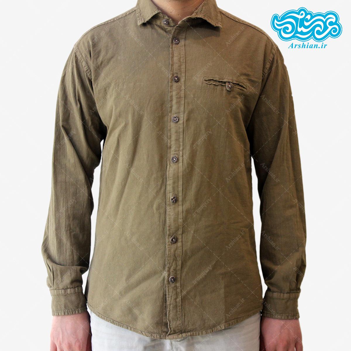 پیراهن الیاف طبیعی طرح ایلیا مدل sa001