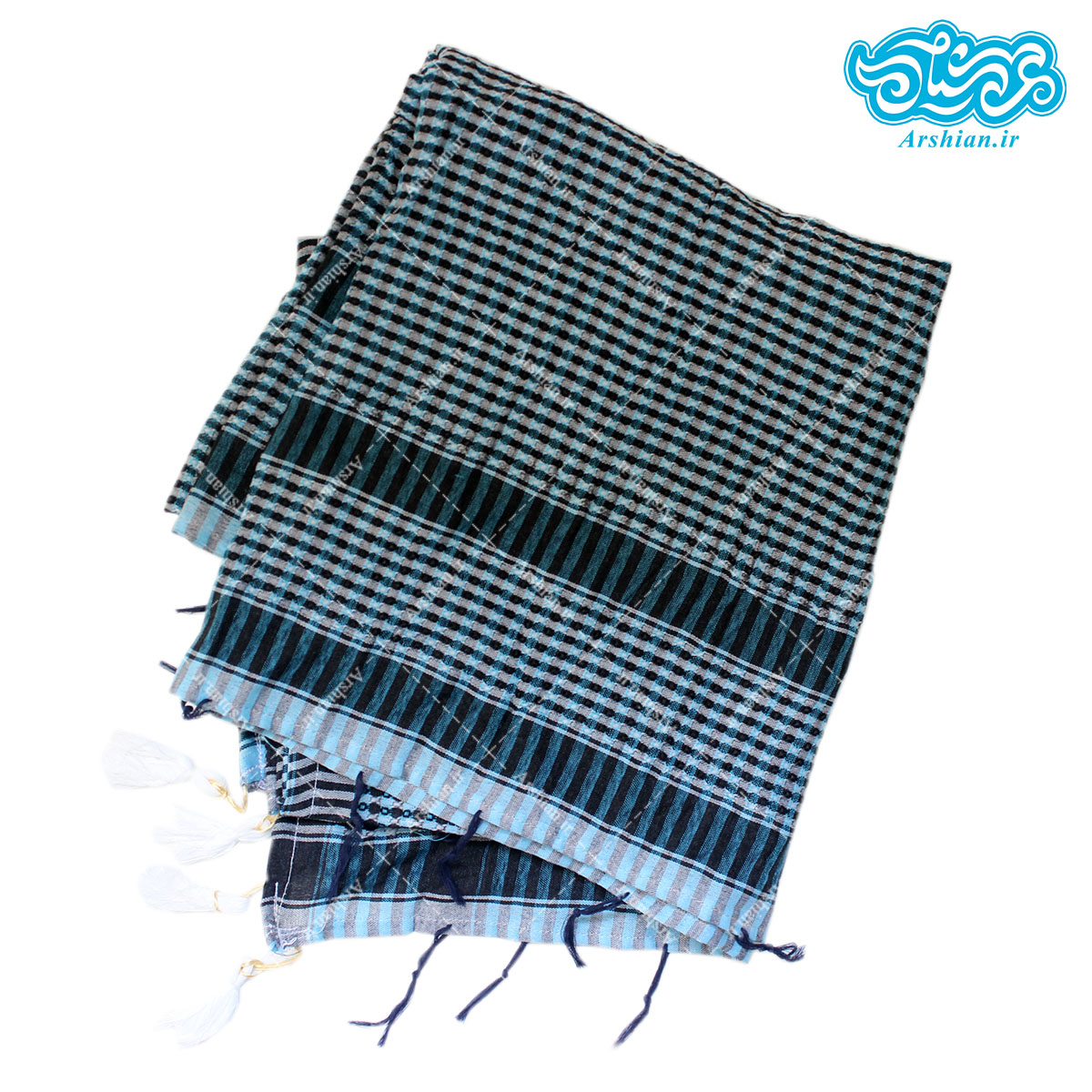 چفیه طرح عربی پلاستیکی