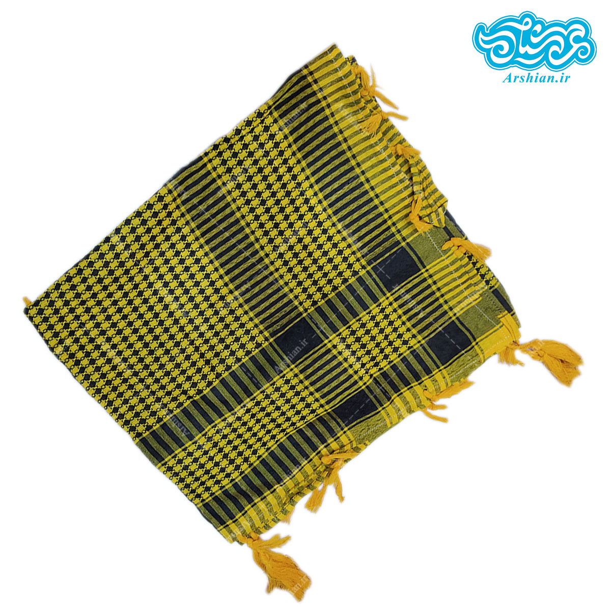 چفیه طرح عربی پلاستیکی کد034